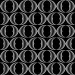 Design seamless monochrome grid pattern — Stock Vector #53880525
