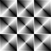 Design seamless square trellised pattern — Stock Vector