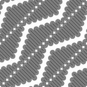 Design bezešvé jednobarevné cik cak geometrickým vzorem — Stock vektor