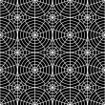 Design seamless monochrome spider web pattern — Stock Vector #55343921