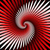 Design colorful spiral movement background — Stock Vector