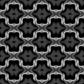 Design seamless decorative trellised pattern — Stock Vector