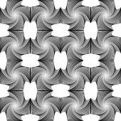 设计无缝涡的几何图案 — 图库矢量图片