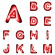 Design ABC letters from A to M — Stock Vector #56517061