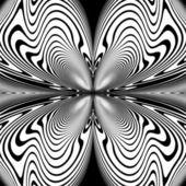 Design monochrome decorative twirl background — Stock Vector