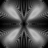 Design uncolored trellis interlaced background — Stock Vector