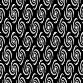 Design seamless monochrome vortex twisting pattern — Stock Vector