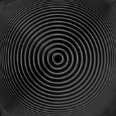 Disegno monocromatico twirl movimento circolare sfondo — Stockvector