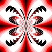 Design colorful decorative twirl background — Vecteur