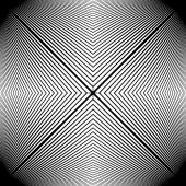 Design monochrome stripy geometric pattern — Stock Vector