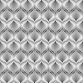 Design seamless monochrome mosaic pattern — Stock vektor
