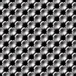 Design seamless monochrome flower pattern — Stock Vector #67564639