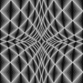Design diamond concave texture — Stock Vector