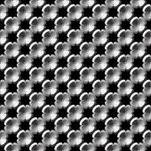 Design seamless monochrome flower pattern — Stock Vector