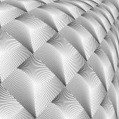 Design diamond convex texture — Stock Vector