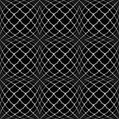 Design seamless monochrome convex pattern — Stock Vector
