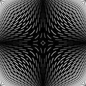 Design monochrome abstract backdrop — Stock Vector