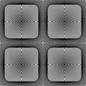 Design seamless square geometric pattern — Stock Vector