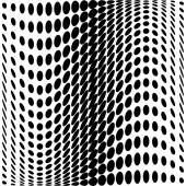 Design monochrome dots background — Stockvektor