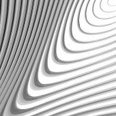 Diseño hidromasaje monocromo líneas movimiento fondo — Vector de stock