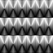 Design seamless diamond convex pattern — Stock Vector