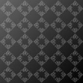 Abstract dark floral pattern. Vector illustration. — Stockvektor