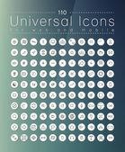 Ensemble d'icônes pour le web — Vecteur