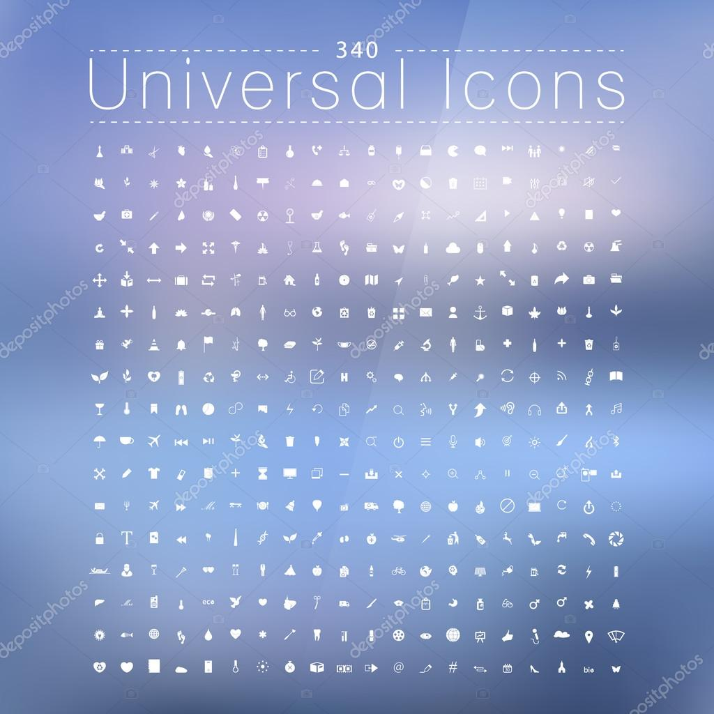 Set of 340 Quality icon