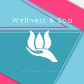 Logo template for SPA — Stockvector