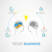 Business success strategy concept — Vecteur