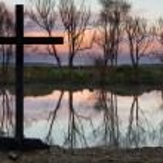 Still Waters Cross — Stock Photo #51888249