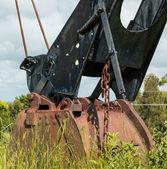 Old Digger Bucket — Stock Photo