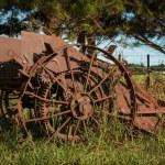 Vintage Harvester — Stock Photo #66677989