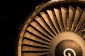 Jet Engine Intake — Stock Photo