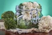 Preserved broccoli — Stock Photo