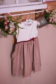 Baby dress — Stock Photo