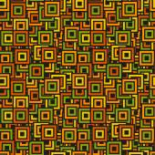 Seamless colorful square pattern — Vector de stock