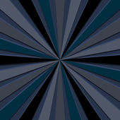 Vector illustration of dark blue - gray rays — Stock Photo