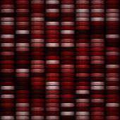Seamless red and pink casino tokens pattern — Stock Photo
