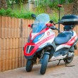 Постер, плакат: Three wheeled Medicycle Piaggio MP3