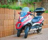Three-wheeled Medicycle Piaggio MP3 — Stock Photo