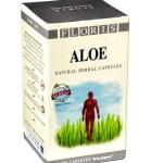 Постер, плакат: Carton box of Floris aloe natural herbal capsules
