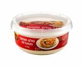 Factory-made hummus Yad Hamelech — Stock Photo
