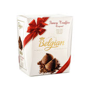Belgian Fancy Truffles Original — Stock Photo