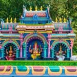 Hindu temple at the Batu Caves in Kuala Lumpur — Stock Photo #58200877