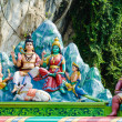 Hindu temple at the Batu Caves in Kuala Lumpur — Stock Photo #58201047