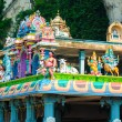 Hindu temple at the Batu Caves in Kuala Lumpur — Stock Photo #58201147