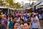 Jatujak market, The famous weekend market on January 25, 2015 — Stock fotografie