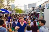 Jatujak market, The famous weekend market — Stock fotografie