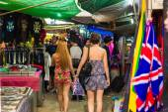 Jatujak market, The famous weekend market on January 25, 2015 in Bangkok,Chatuchak Market — Stock fotografie
